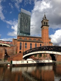 Manchester Canal and Beetham Tower