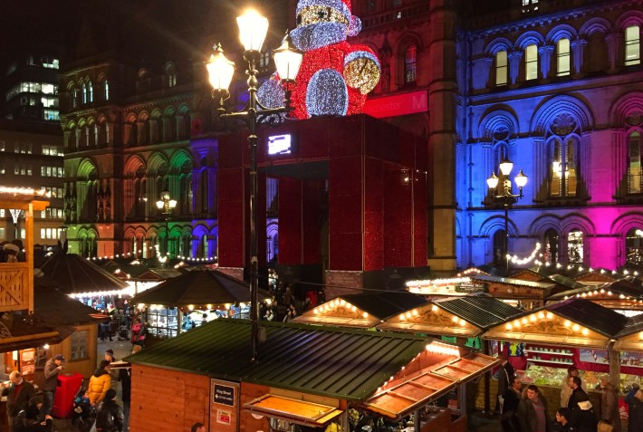 Gluhwein and the Manchester Christmas Markets