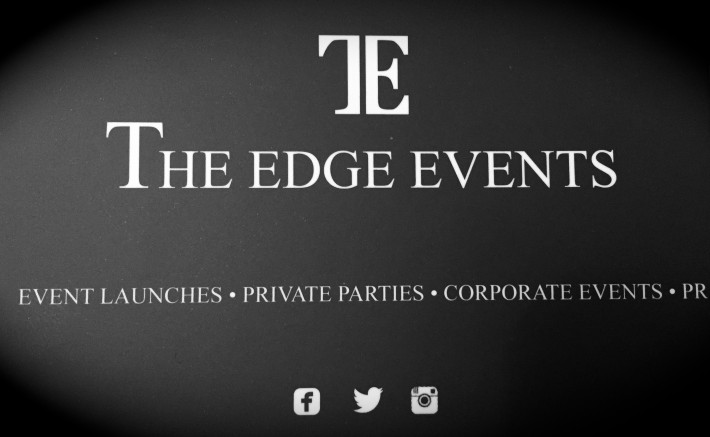 Partying with 'The Edge'