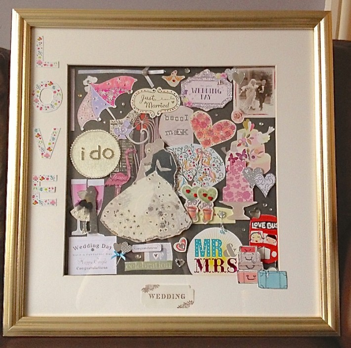 Crafty Idea: Memory Box Frames