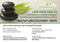 Love Your Health Flyer 2