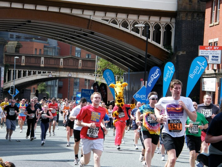 Why I run the Manchester 10k