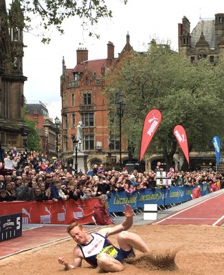 Greg Rutherford, Great City Games