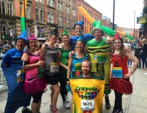 Team Crayola at Great Manchester Run