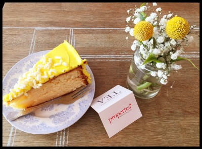 Lemon Cake at Proper Tea