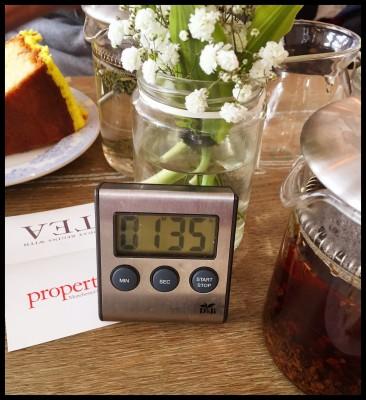 Tea Timer at Proper Tea