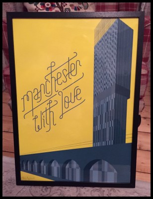 Beetham Tower signed print