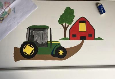 John Deere tractor design