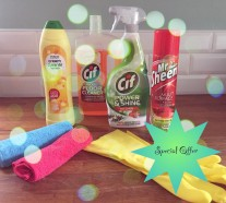 cleaning products to promote special offer with Hassle.com