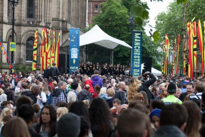 Manchester Day Albert Square