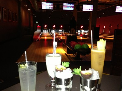 Cocktails and bowling at All Star Lanes Manchester