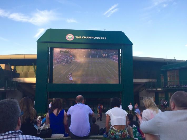 Highlights from Monday at Wimbledon
