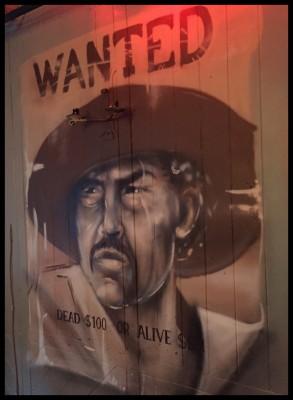 Wanted poster, El Capo