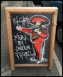 El Capo - Man up, drink Tequila
