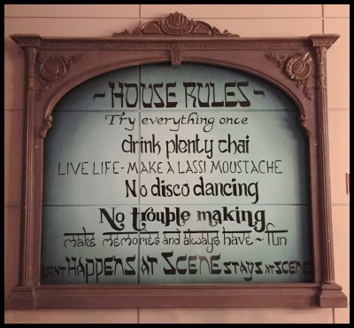 House Rules at Scene