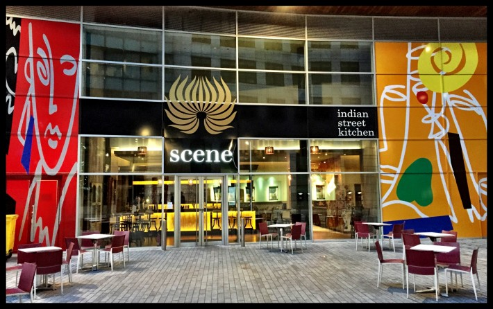 Scene; the new Indian restaurant in Spinningfields