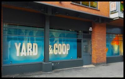 Yard and Coop window