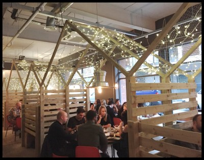 chicken coop dining spots at Yard and Coop