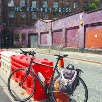 Cycle selfie: The Hotspur Press