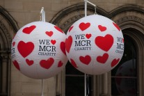 We love Manchester balloons