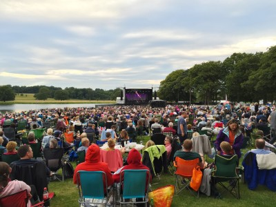 Tatton Park ready for the Halle Orchestra