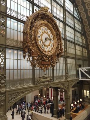 Clock, Musee D'Orsay, Paris