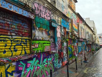 Street Art, Rue Denoyez, 20, Paris