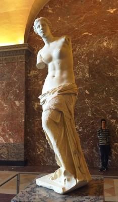 Venus de Milo, Paris