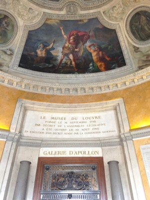 Galerie D'Apollon, The Louvre, Paris