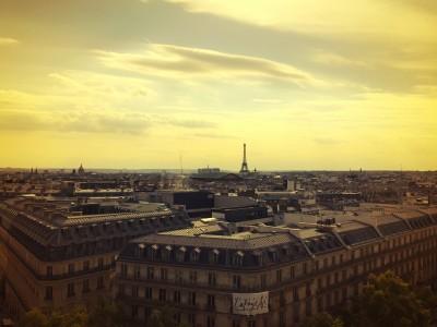 Panorama from Galeries Lafayette, Paris