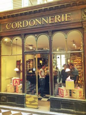 Cordonnerie, Paris