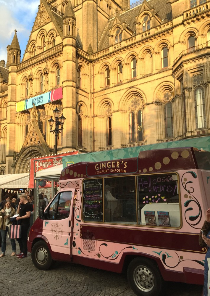 Ice cream for dinner at the Manchester Food and Drink Festival