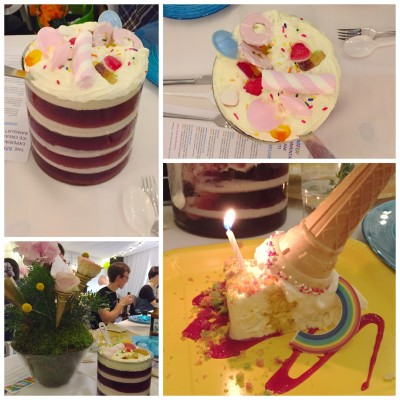 Jelly, Cake and Ice Cream at Manchester Food and Drink Festival Ice Cream Banquet