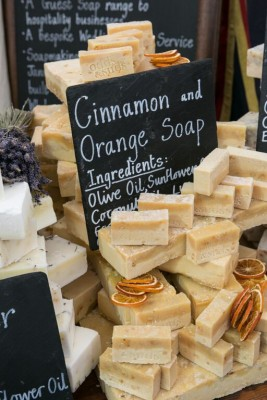 Cinnamon and Orange Soap - shopping village at The Handmade Fair