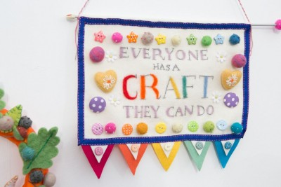 Everyone has a craft they can do - The Handmade Fair