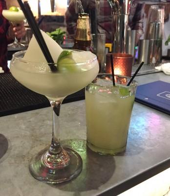 Margaritas at Wahaca Manchester