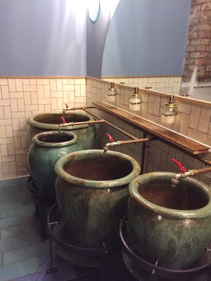 Check out the amazing sinks at Wahaca Manchester