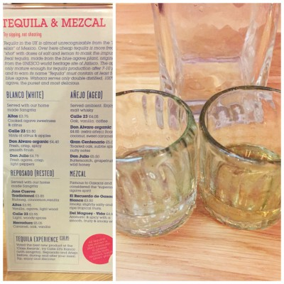 Tequila! at Wahaca Manchester