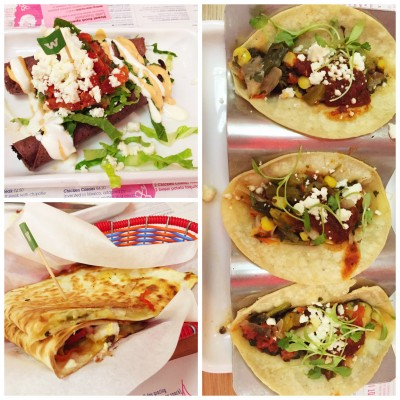 Street food to share at Wahaca Manchester