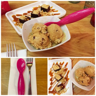Delicious desserts at Wahaca Manchester