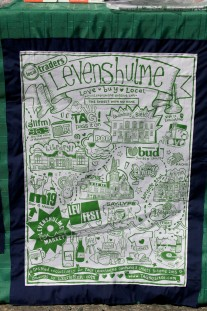 Levenshulme tea towel