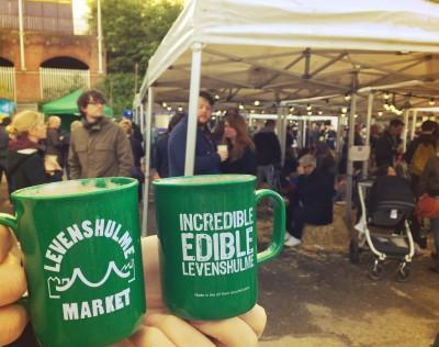 Levy market mugs, Levenshulme