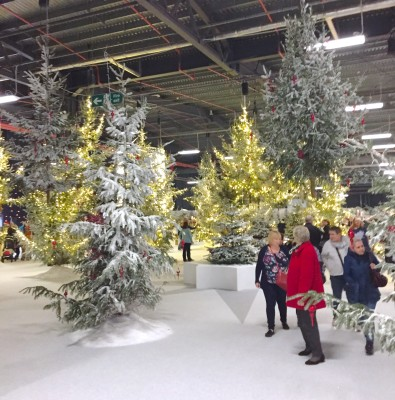 Winter wonderland, Ideal Home Show at Christmas