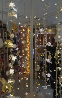 Fairy lights, Ideal Home Show at Christmas