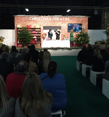 Lawrence Llewelyn Bowen in the Christmas Theatre, Ideal Home Show at Christmas