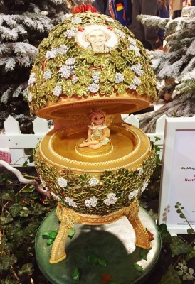 Faberge egg cake, Cake and Bake Show