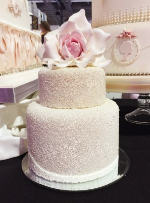 Rose and bead cake, Cake and Bake Show