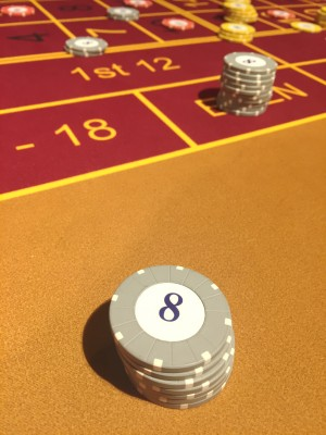 Roulette betting, Grosvenor Casino, Didsbury