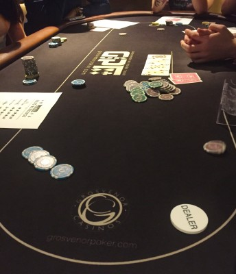 Getting to grips with poker at Grosvenor Casino, Didsbury