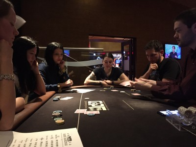 Blogger poker lesson at Grosvenor Casino, Didsbury